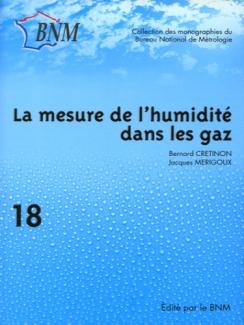 MESURE DE L'HUMIDITÉ DANS LES GAZ (LA)
