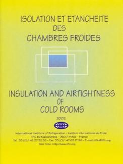 ISOLATION ET ÉTANCHÉITÉ  DES CHAMBRES FROIDES