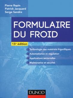 FORMULAIRE DU FROID