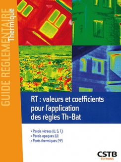 RT : valeurs et coefficients pour l'application des règles Th-Bat