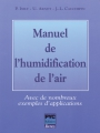 MANUEL DE L'HUMIDIFICATION DE L'AIR
