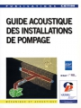 GUIDE ACOUSTIQUE DES INSTALLATIONS DE POMPAGE
