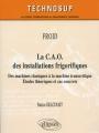 LA C.A.O DES INSTALLATIONS FRIGORIFIQUES