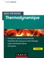 AIDE-MÉMOIRE DE THERMODYNAMIQUE - 4e Édition