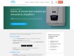 L'offre Eideris déjà présente sur le site Engie Home Services