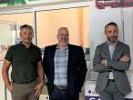 Franck Roeckel, dirigeant de Roclim, Yann Gellens, directeur des opérations chez Proservice, Nicolas Péclard, dirigeant de Comptoir Seine-et-Marnais.