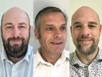 Fabien Besson, président d'Axenergie ; Bruno His, directeur d'Axenergie ; Julien Philippe, responsable de la communication.