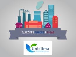 Un quizz ludique accessible à tous sur le site du syndicat (uniclima.fr).