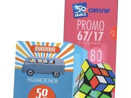 50 ans ça se fête ! Tout au long de l'année, ORVIF célèbre à sa manière son anniversaire, avec ses clients plombiers-chauffagistes.