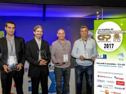 Remise des Trophées de l'Ingénierie Performante CFP/ICO sur le salon Interclima le 08-11-2017