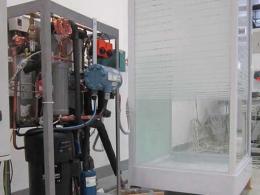 le CEA-INES a présenté une recherche conduite par Joël Wyttenbach sur un projet de chauffe-eau thermodynamique avec récupération sur eaux usées.