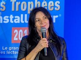 Béatrice, épouse et collaboratrice de Pascal Gilardeau (voir L'installateur 746), a elle aussi pris part au concours et décroché un «coup de cœur» du jury