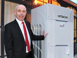 Pierre Berry, directeur France de Johnson Controls Hitachi Air Conditioning Europe