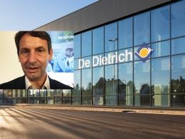 Thierry Leroy, président de BDR Thermea France, précise dans quels secteurs le groupe gagne des parts de marché en 2018.
