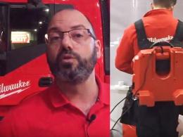 Avec son impressionnant camion baptisé le «Big Red», le spécialiste de l'outillage électroportatif sans fil Milwaukee commence début avril une tournée qui durera deux mois et demi.