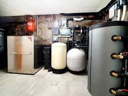 En remplaçant la pompe à chaleur géothermique de cette maison alsacienne, l'installateur a réduit de 500 euros la facture mensuelle d'électricité...