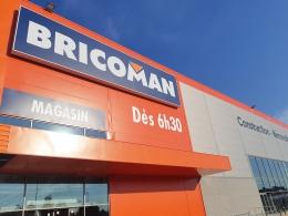 Ouvert depuis le 28 septembre dernier, le magasin Bricoman de Bonneuil-sur-Marne (Val-de-Marne) s'étend sur 10000 m2 !
