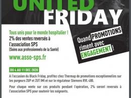 Thermap vient en soutien aux personnels soignants avec l'opération United Friday