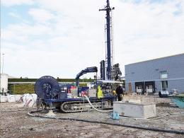 36 sondes géothermiques sous le site nordiste de L'Oréal