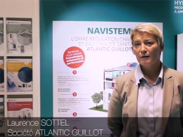 Les Interviews de CFP et L'Installateur sur les stands d'Interclima 2015. ATLANTIC GUILLOT