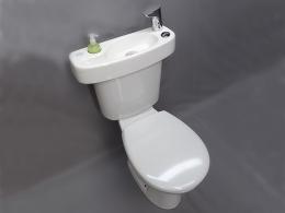 Une étoile pour le combiné WC lave-mains