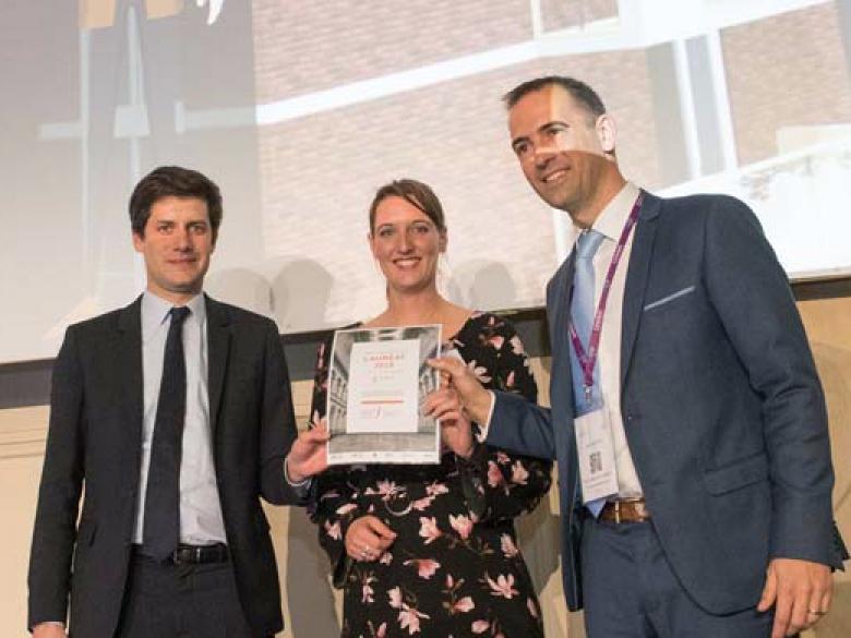 la start-up Librafluides Concept a remporté le prix de la start-up sur Enerjmeeting