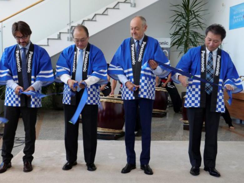 Inauguration Panasonic