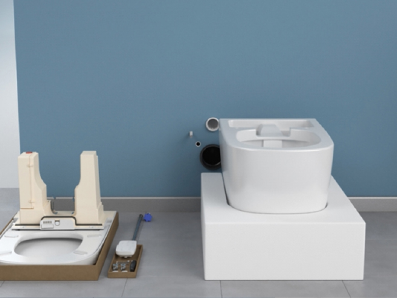 WC lavant V-care Confort de Vitra