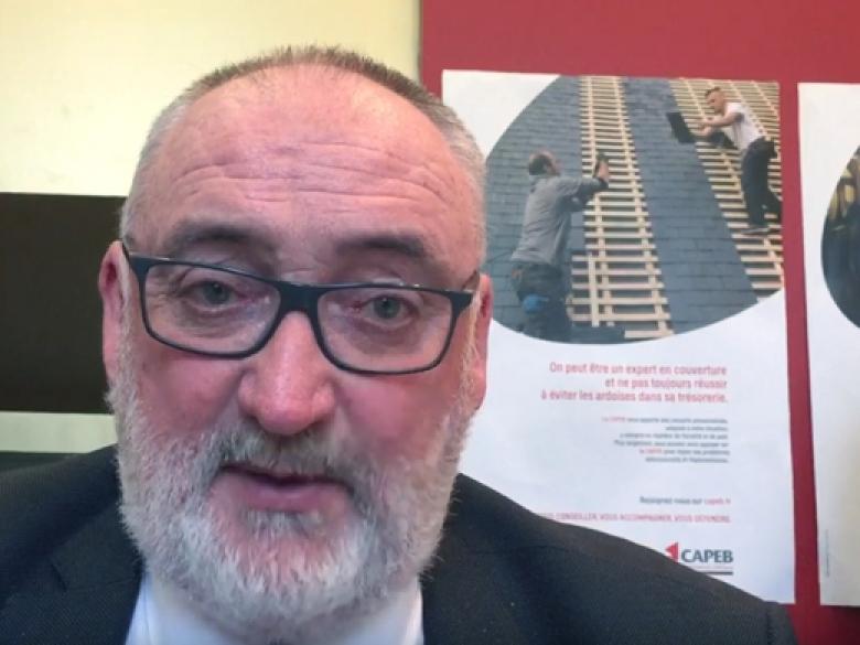 Patrick Liébus, président de la CAPEB, fait le point sur l'activité de l'artisanat du bâtiment en 2018.