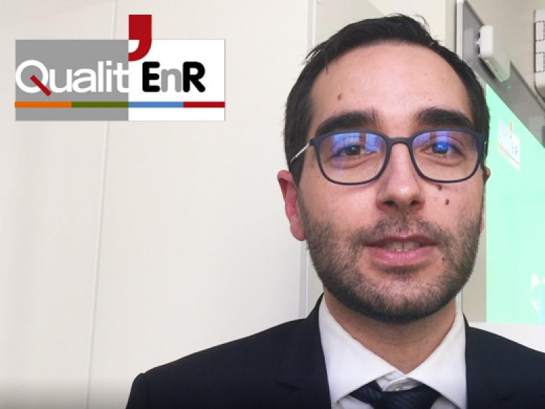en vidéo : Teddy Puaud, délégué général de l'association Qualit'ENR