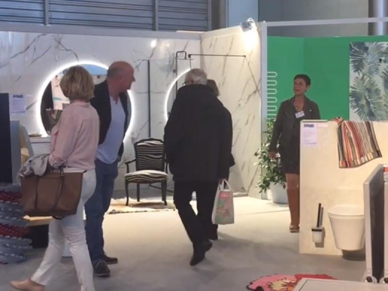 Une salle d'exposition éphémère de 600 m2 comprenant 12 salles de bains a pris place au cœur de la Foir'Expo, qui se tient à Mulhouse jusqu'au 19 mai.