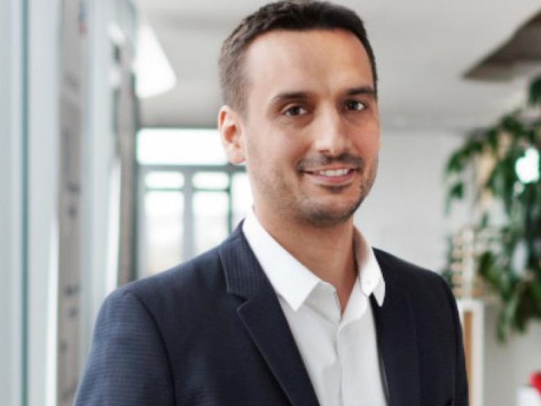 Vincent Mathely, directeur commercial de SMA Francez