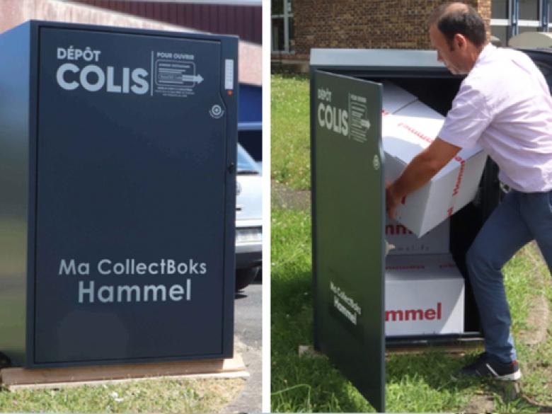 Hammel invente la consigne à domicile ou sur chantier pour des livraisons 24h/24