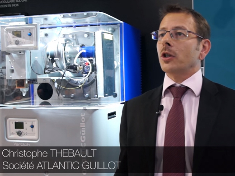 Les Interviews de CFP et L'Installateur sur les stands d'Interclima 2015 : ATLANTIC GUILLOT