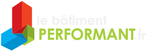 Logo le batiment performant