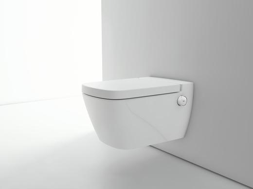 Aux toilettes des innovations en pagaille actualit le b timent performant - Wc avec douchette integree ...